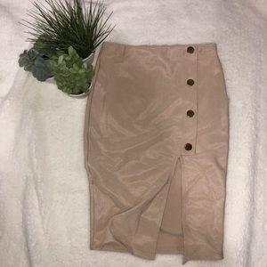 Slit skirt -NEW